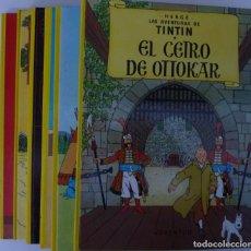 Cómics: LOTE DE 6 LIBROS DE TINTIN //TAPA DURA //. Lote 194366352