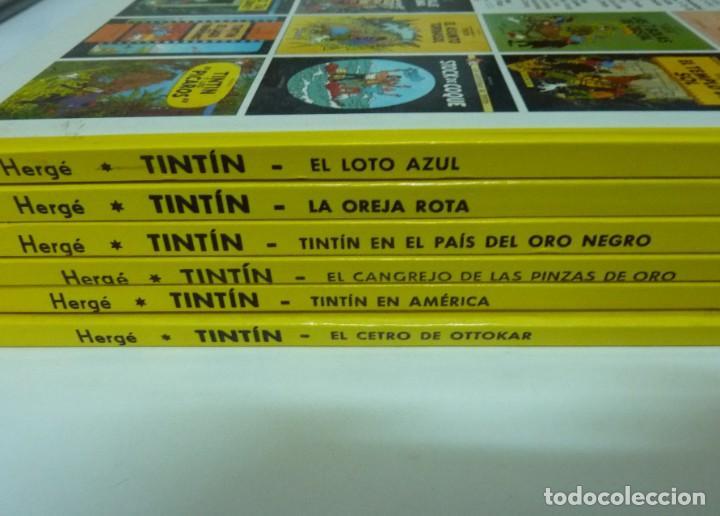 Cómics: TINTIN / LOTE DE 6 LIBROS DE TINTIN //TAPA DURA // - Foto 2 - 194366352