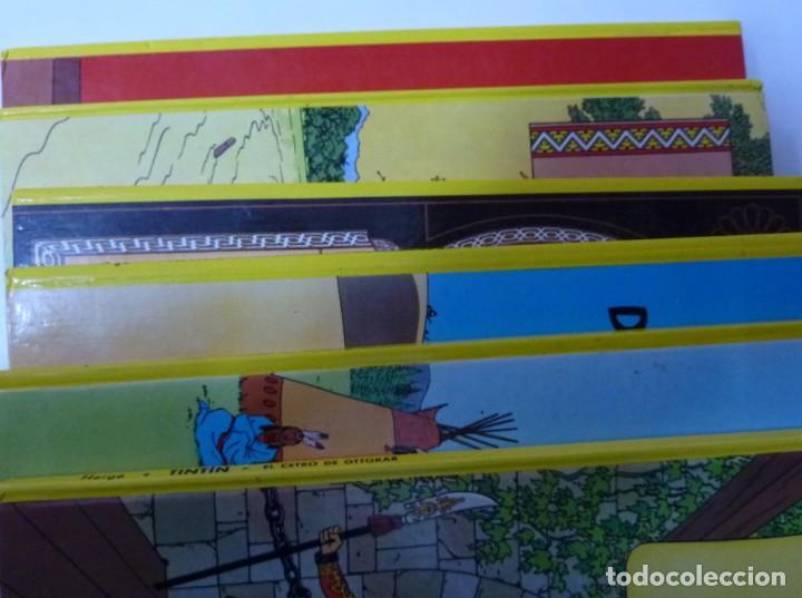 Cómics: TINTIN / LOTE DE 6 LIBROS DE TINTIN //TAPA DURA // - Foto 3 - 194366352