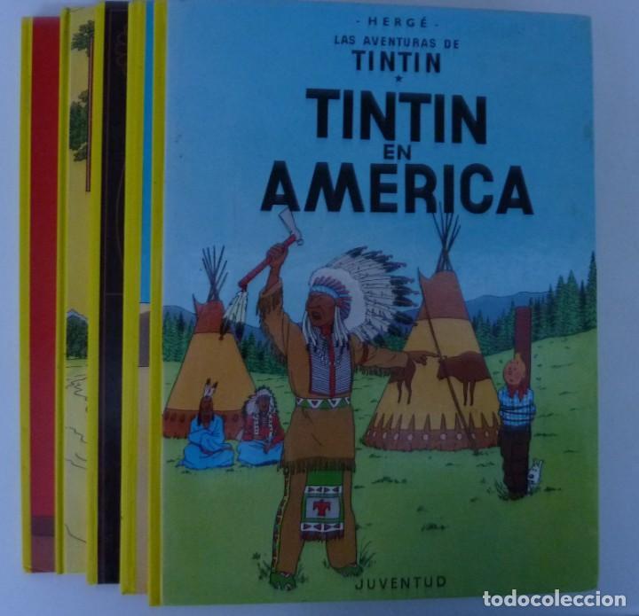 Cómics: TINTIN / LOTE DE 6 LIBROS DE TINTIN //TAPA DURA // - Foto 4 - 194366352
