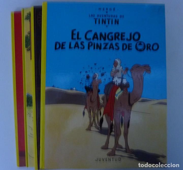 Cómics: TINTIN / LOTE DE 6 LIBROS DE TINTIN //TAPA DURA // - Foto 5 - 194366352