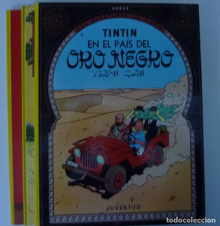Cómics: TINTIN / LOTE DE 6 LIBROS DE TINTIN //TAPA DURA // - Foto 6 - 194366352