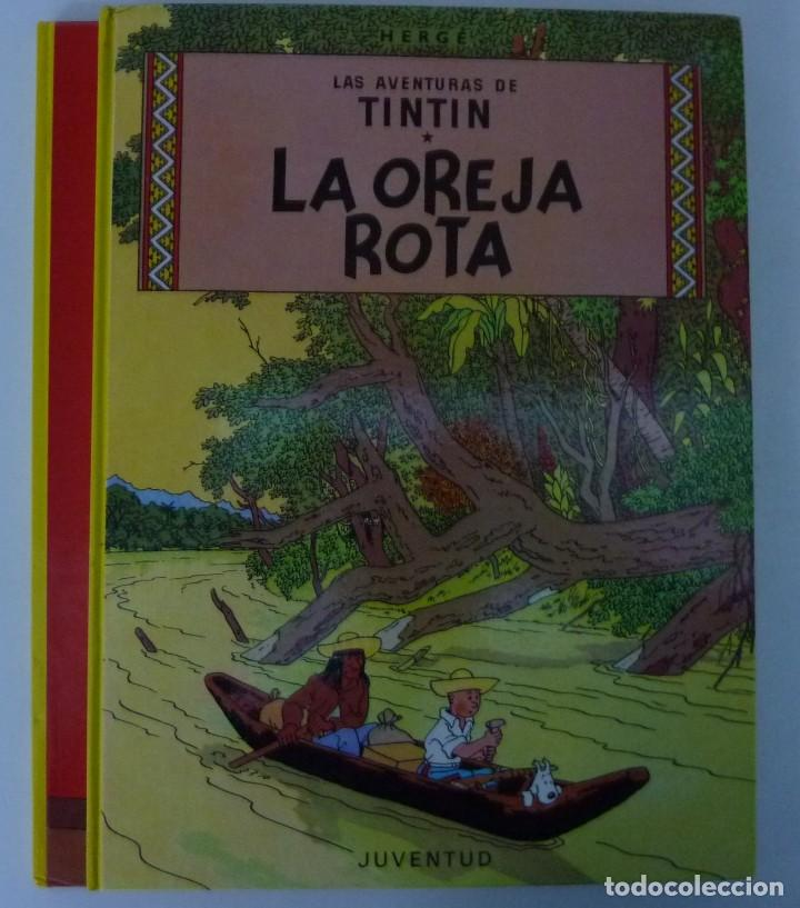 Cómics: TINTIN / LOTE DE 6 LIBROS DE TINTIN //TAPA DURA // - Foto 7 - 194366352