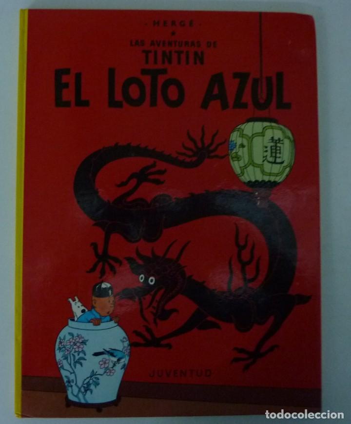 Cómics: TINTIN / LOTE DE 6 LIBROS DE TINTIN //TAPA DURA // - Foto 8 - 194366352