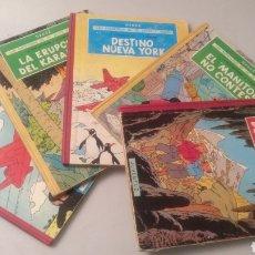 Cómics: COLECCIÓN COMPLETA PRIMERA EDICIÓN LAS AVENTURAS DE JO, ZETTE Y JOCKO DE HERGE. Lote 194369870