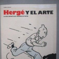 Cómics: HERGE Y EL ARTE - TINTIN. Lote 194513083