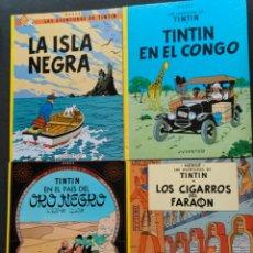 Cómics: TINTÍN CATALAN CUATRO ALBUMS. Lote 194529787
