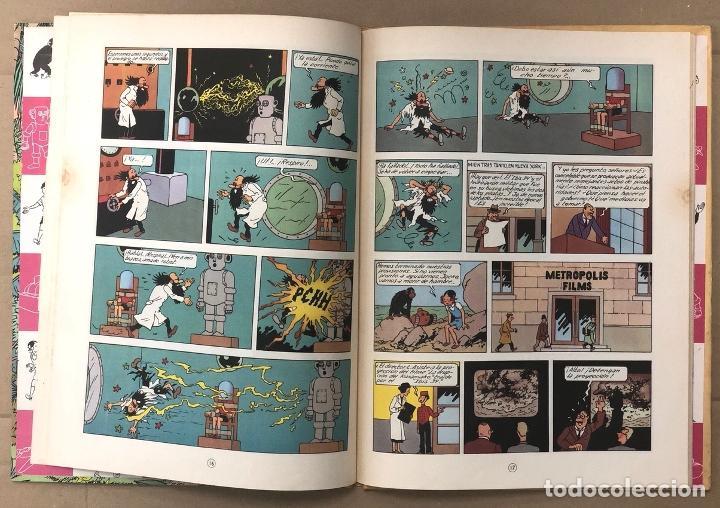 Cómics: LAS AVENTURAS DE JO, ZETTE Y JOCKO. LA ERUPCION DEL KARAMAKO. HERGÉ. JUVENTUD, 1971. 1ª EDICION - Foto 4 - 194569428