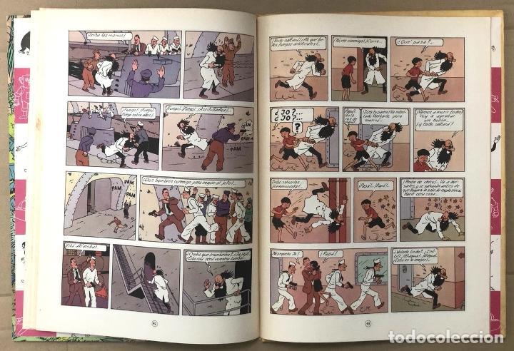 Cómics: LAS AVENTURAS DE JO, ZETTE Y JOCKO. LA ERUPCION DEL KARAMAKO. HERGÉ. JUVENTUD, 1971. 1ª EDICION - Foto 5 - 194569428