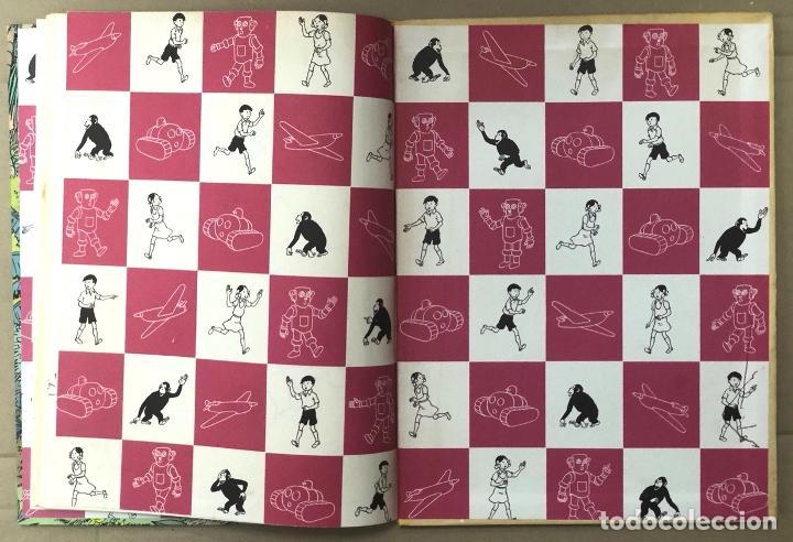 Cómics: LAS AVENTURAS DE JO, ZETTE Y JOCKO. LA ERUPCION DEL KARAMAKO. HERGÉ. JUVENTUD, 1971. 1ª EDICION - Foto 6 - 194569428