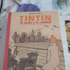 Cómics: TINTIN EL SUEÑO Y LA REALIDAD. Lote 194573331