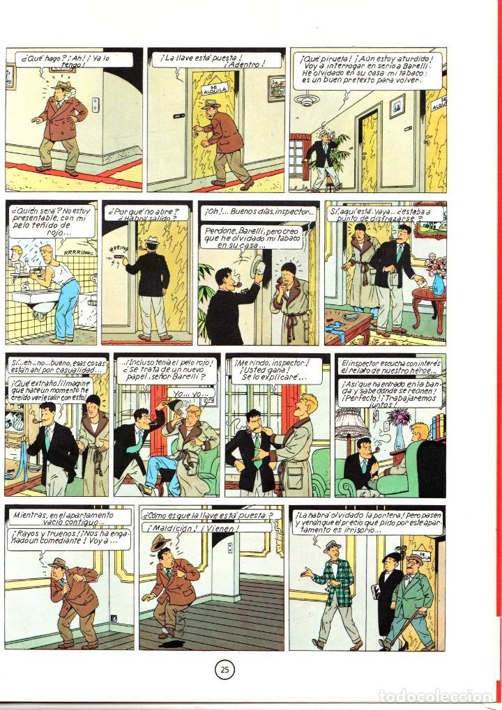 Cómics: BARELLI. BOB DE MOOR. EL ENIGMATICO SEÑOR BARELLI. Nº 1. JUVENTUD 1990. 1ª EDICION - Foto 2 - 194592278
