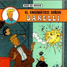 Cómics: BARELLI. BOB DE MOOR. EL ENIGMATICO SEÑOR BARELLI. Nº 1. JUVENTUD 1990. 1ª EDICION. Lote 194592278
