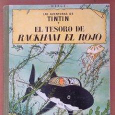 Cómics: TINTIN EXCEPCIONAL EJEMPLAR EL TESORO DE RACKHAM EL ROJO ERROR DE IMPRESION 3ª EDICION 1965. Lote 194593730