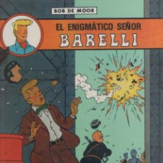 Cómics: BARELLI-E.D. JUVENTUD-AÑO 1990-COLOR-TAPA DURA-AUTOR : BOB MOOR-Nº 1- EL ENIGMATICO SEÑOR BARELLI. Lote 194605395