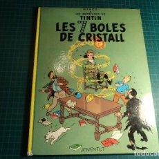 Cómics: TINTIN. LES 7 BOLES DE CRISTALL. 4ª EDICION 1982. EN CATALAN. (M-4). Lote 194620210