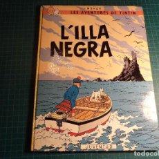 Cómics: TINTIN. L'ILLA NEGRA. 3ª EDICION 1979. EN CATALAN. (M-4). Lote 194620651