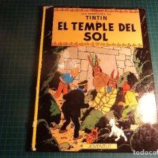 Cómics: TINTIN. EL TEMPLE DEL SOL. 6ª EDICION 1983. JUVENTUT. EN CATALAN. (M-4). Lote 194647832