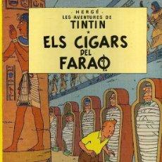 Cómics: TINTIN - ELS CIGARS DEL FARAO - TAPA DURA. Lote 194665256