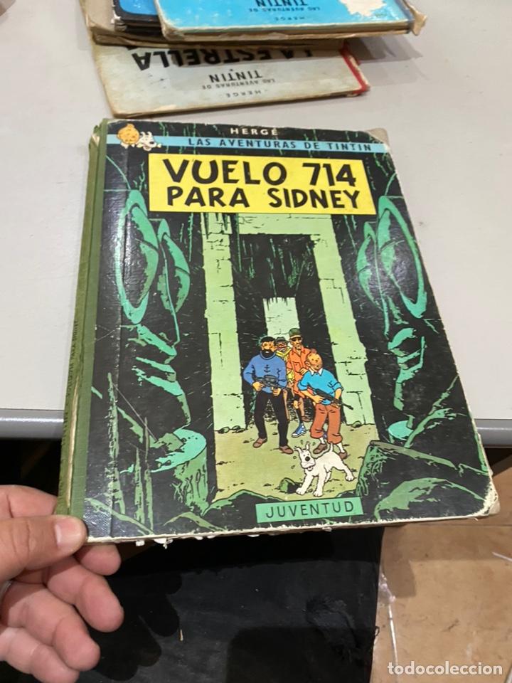 TINTIN. VUELO 714 PARA SIDNEY. 1 EDICIÓN 1969 - VER LAS FOTOS (Tebeos y Comics - Juventud - Tintín)
