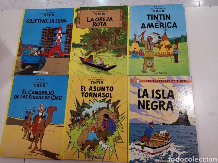 Cómics: 22 libros de las aventuras de tintin - Foto 3 - 194704371