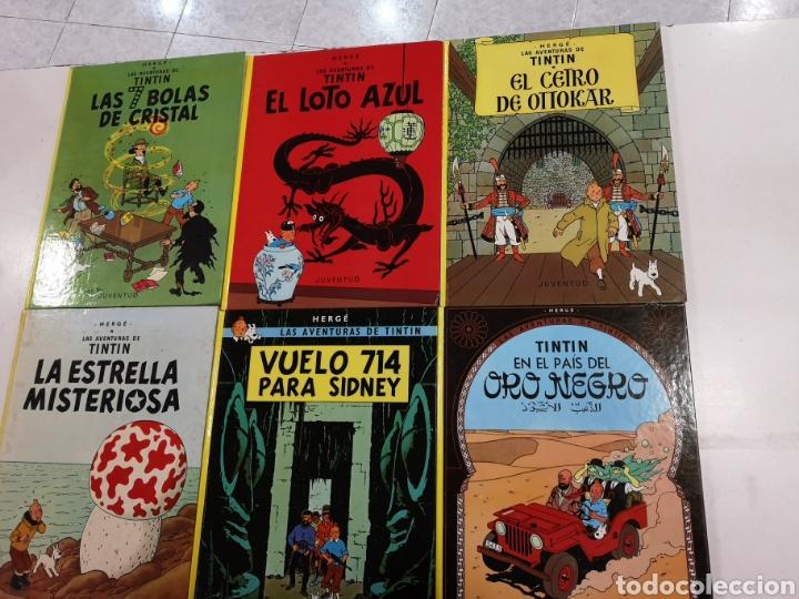 Cómics: 22 libros de las aventuras de tintin - Foto 4 - 194704371