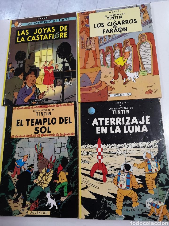 22 LIBROS DE LAS AVENTURAS DE TINTIN (Tebeos y Comics - Juventud - Tintín)