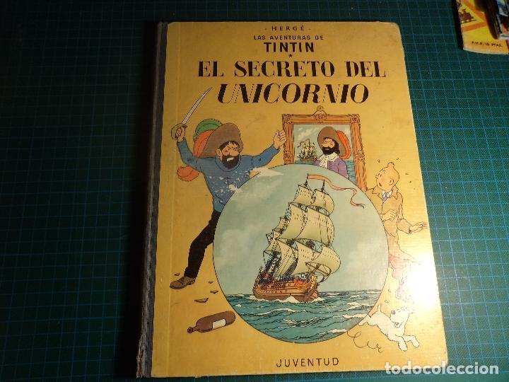TINTIN. EL SECRETO DEL UNICORNIO. 4ª EDICION (1968). (M-3) (Tebeos y Comics - Juventud - Tintín)