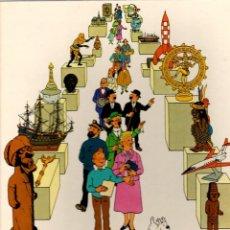 Cómics: EL MUSEO IMAGINARIO DE TINTIN. CARTONE. JUVENTUD, AÑO 1982. 1ª EDICION. Lote 194779932