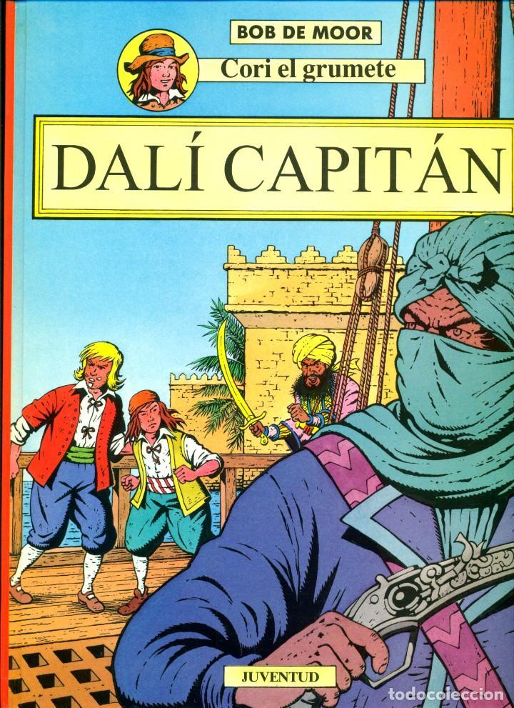 CORI EL GRUMETE-5: DALÍ CAPITÁN (JUVENTUD, 1994) DE BOB DE MOOR (Tebeos y Comics - Juventud - Cori el Grumete)
