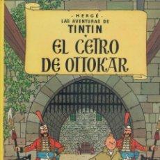 Comics : LAS AVENTURAS DE TINTIN-E.D. JUVENTUD-AÑO 1998-COLOR-CARTON-EL CETRO DE OTTOKAR. Lote 194874376