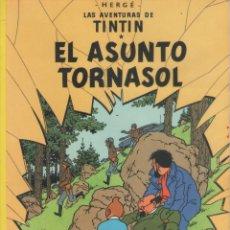 Comics : LAS AVENTURAS DE TINTIN-E.D. JUVENTUD-AÑO 1998-COLOR-CARTON-EL ASUNTO TORNASOL. Lote 194874838
