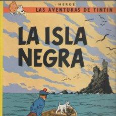 Cómics: LAS AVENTURAS DE TINTIN-E.D. JUVENTUD-AÑO 1998-COLOR-CARTON-LA ISLA NEGRA. Lote 194875105