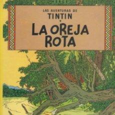 Cómics: LAS AVENTURAS DE TINTIN-E.D. JUVENTUD-AÑO 1998-COLOR-CARTON-LA OREJA ROTA. Lote 194875348