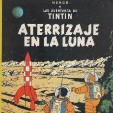 Cómics: LAS AVENTURAS DE TINTIN-E.D. JUVENTUD-AÑO 1998-COLOR-CARTON-ATERRIZAJE EN LA LUNA. Lote 194875878