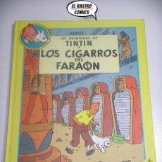 Cómics: TINTIN, ÁLBUM DOBLE, LOS CIGARROS DEL FARAÓN + EL LOTO AZUL, HERGÉ, ED CIRCULO, AÑO 1993. Lote 194946512