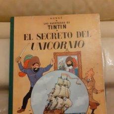 Cómics: TINTIN SECRETO DEL UNICORNIO 1959 PRIMERA EDICION. Lote 194995723