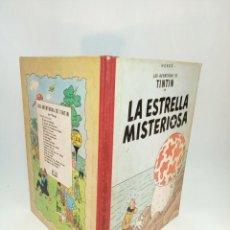 Cómics: LAS AVENTURAS DE TINTIN. LA ESTRELLA MISTERIOSA. HERGÉ. SEGUNDA EDICIÓN. JUVENTUD. . Lote 195043265