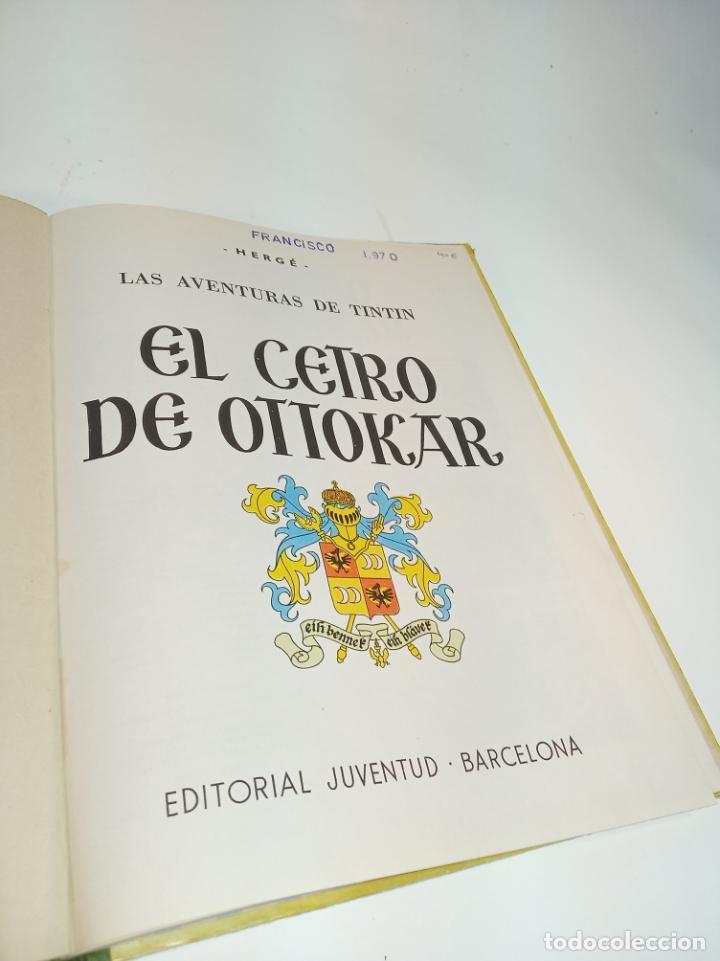 Cómics: Las aventuras de Tintin. El cetro de Ottokar. Hergé. Segunda edición. Juventud. - Foto 2 - 195043442