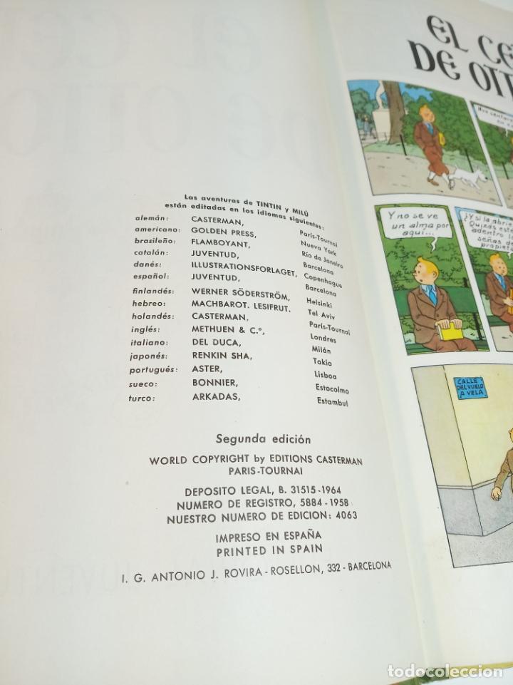 Cómics: Las aventuras de Tintin. El cetro de Ottokar. Hergé. Segunda edición. Juventud. - Foto 3 - 195043442