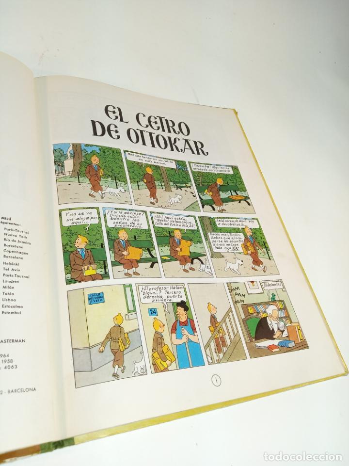 Cómics: Las aventuras de Tintin. El cetro de Ottokar. Hergé. Segunda edición. Juventud. - Foto 4 - 195043442