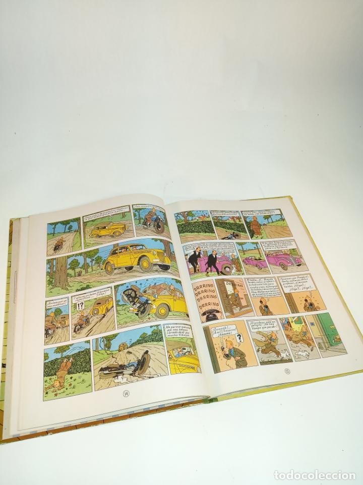 Cómics: Las aventuras de Tintin. El cetro de Ottokar. Hergé. Segunda edición. Juventud. - Foto 5 - 195043442