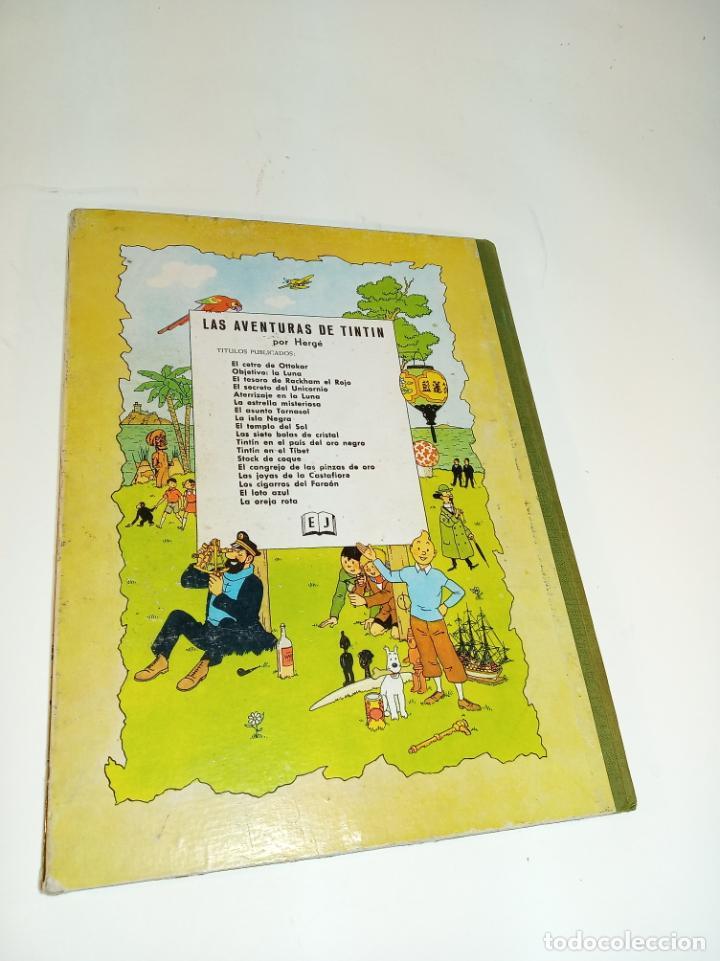 Cómics: Las aventuras de Tintin. El cetro de Ottokar. Hergé. Segunda edición. Juventud. - Foto 7 - 195043442