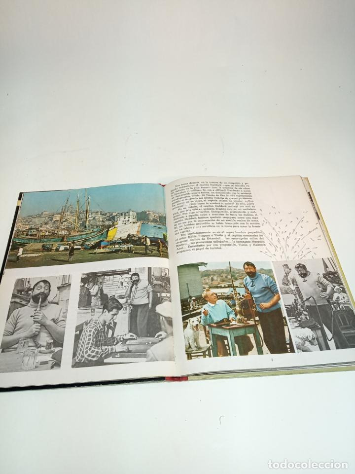 Cómics: Las aventuras de Tintin.Tintin y el misterio del Toyson de oro. Hergé. Primera edición. Juventud. - Foto 5 - 195044108