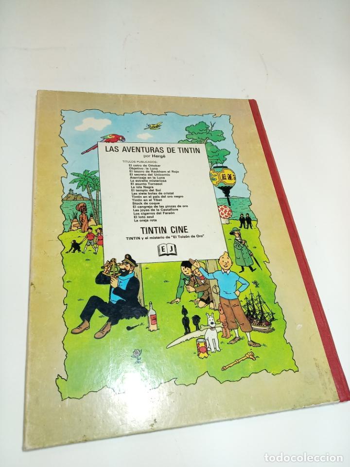 Cómics: Las aventuras de Tintin.Tintin y el misterio del Toyson de oro. Hergé. Primera edición. Juventud. - Foto 9 - 195044108
