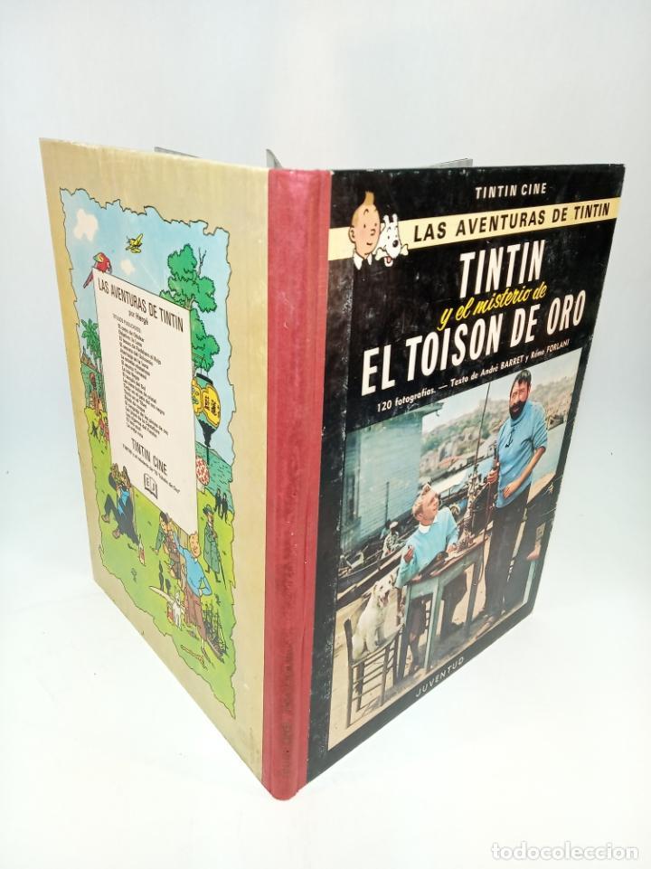 LAS AVENTURAS DE TINTIN.TINTIN Y EL MISTERIO DEL TOYSON DE ORO. HERGÉ. PRIMERA EDICIÓN. JUVENTUD. (Tebeos y Comics - Juventud - Tintín)