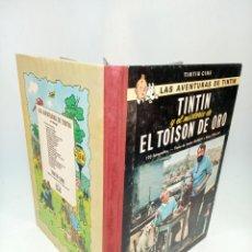 Cómics: LAS AVENTURAS DE TINTIN.TINTIN Y EL MISTERIO DEL TOYSON DE ORO. HERGÉ. PRIMERA EDICIÓN. JUVENTUD.. Lote 195044108