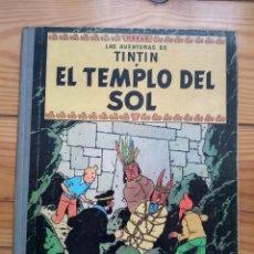 Cómics: TINTÍN: EL TEMPLO DEL SOL - SEGUNDA EDICIÓN - 2ª EDICIÓN 1961. Lote 195069917