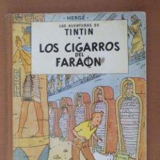 Cómics: TINTIN LOS CIGARROS DEL FARAÓN. JUVENTUD 1 EDICIÓN. LOMO DE TELA. JULIO 1964. Lote 195073457