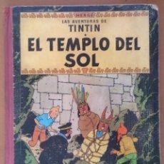 Cómics: TINTIN EL TEMPLO DEL SOL ED.JUVENTUD 1ª EDICION JUNIO 1961 TAPA DURA LOMO DE TELA. Lote 195073858